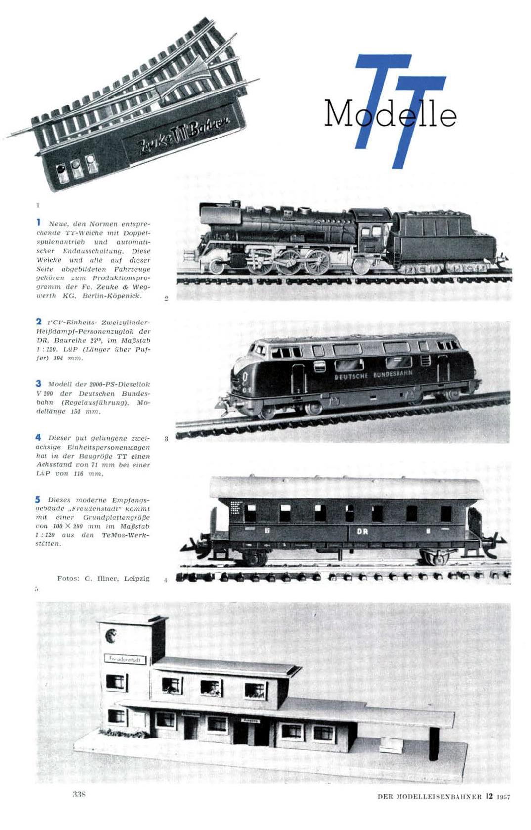 Fragment artykułu o wielkości TT w ModelEisenbahner 12/1957: https://archive.org/details/ModellEisenbahner/mode/2up