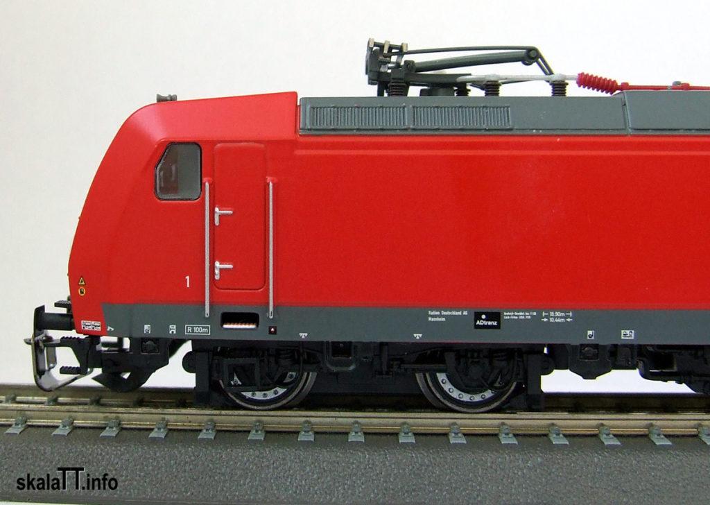 Kühn modell & digital - model lokomotywy Br185 DB AG ep. V