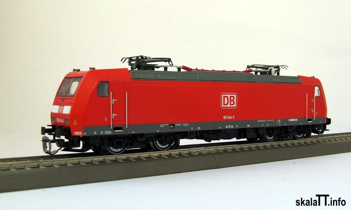 Kühn modell. Model lokomotywy Traxx AC1 – BR185 DB AG w wielkości TT