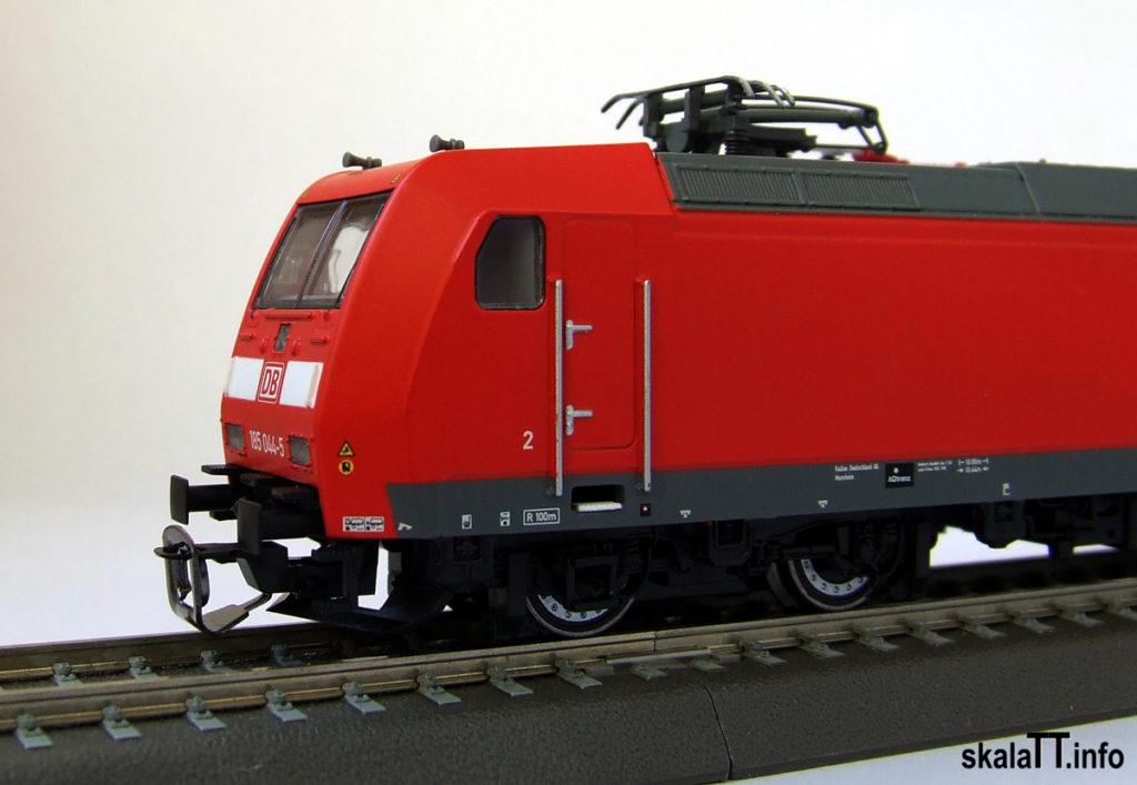 Kühn modell & digital - Czoło modelu lokomotywy Br185 DB AG ep. V
