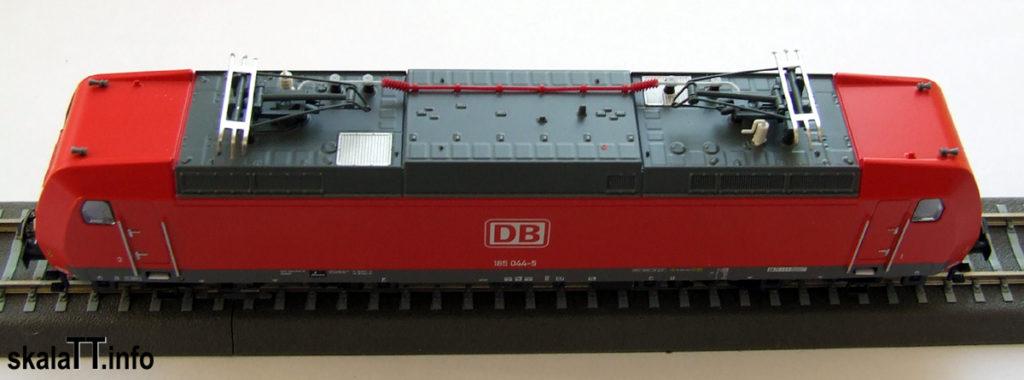 Dach modelu lokomotywy Br185 DB AG ep. V