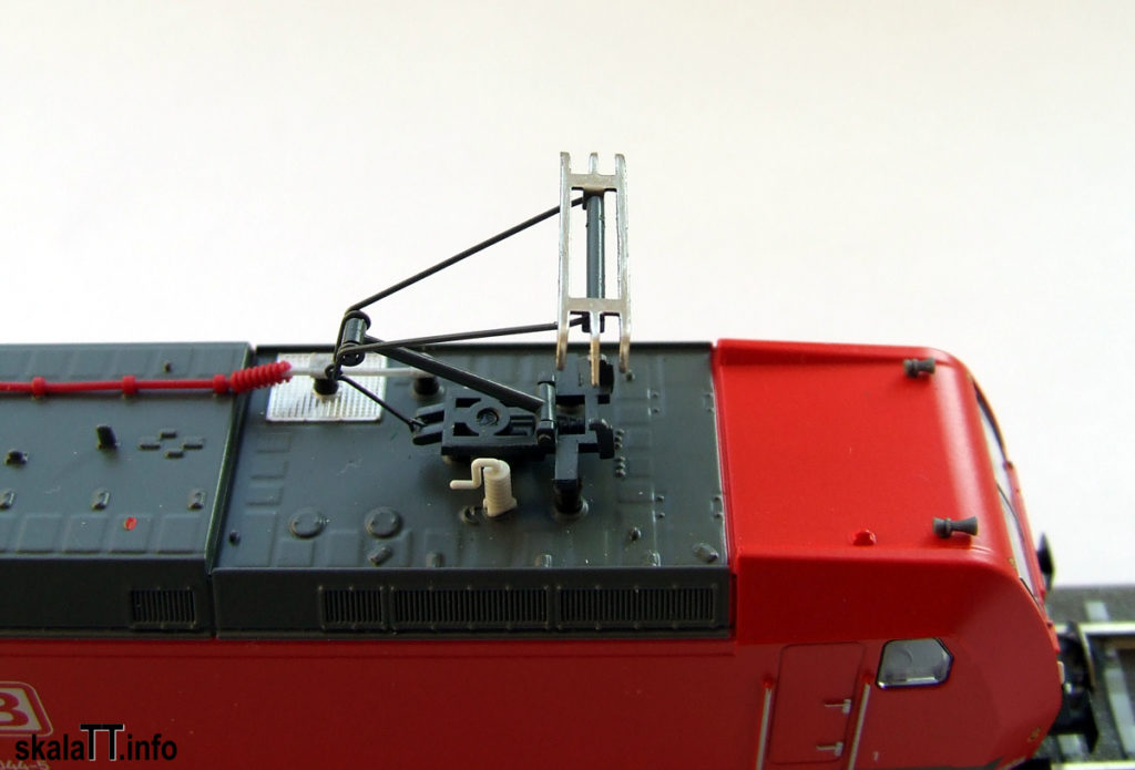 Odbierak w modelu lokomotywy Br185 DB AG ep. V