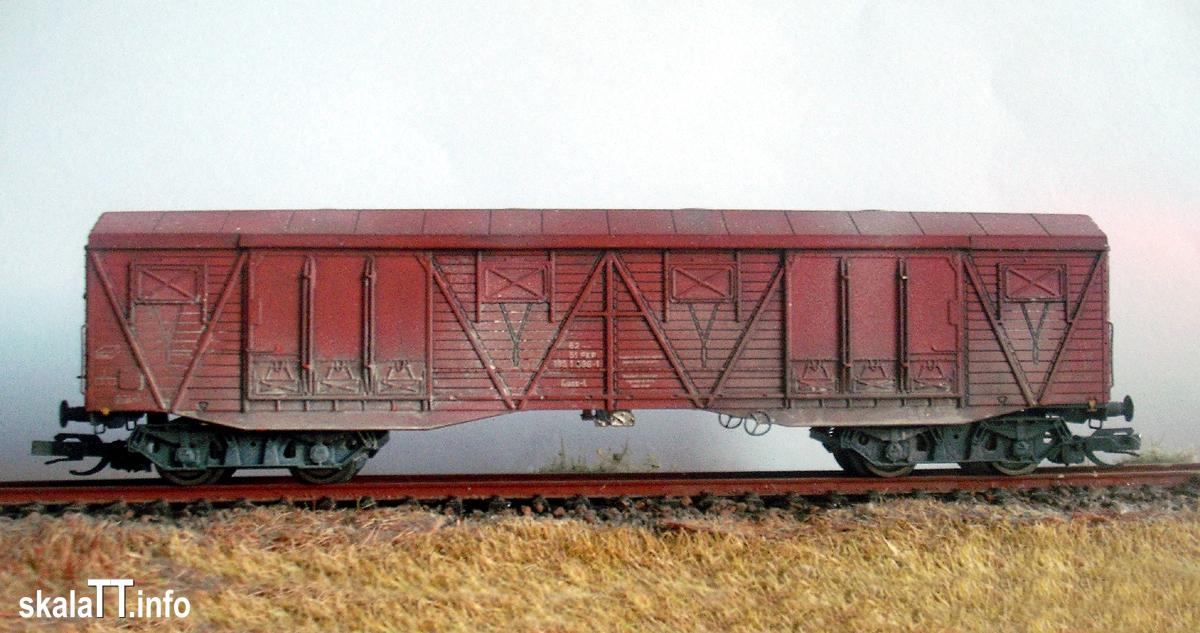 Fred - wagon kryty 401K