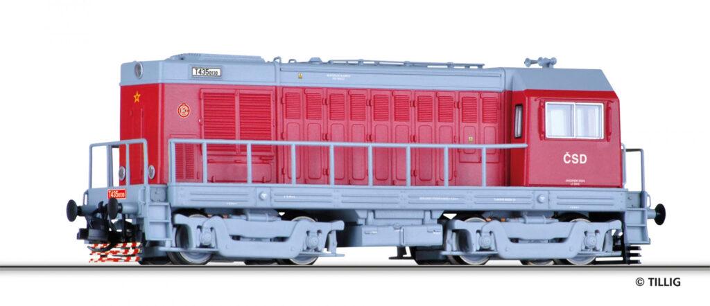 Model lokomotywy ČSD T435-0130, epoka IV, nr kat 02628