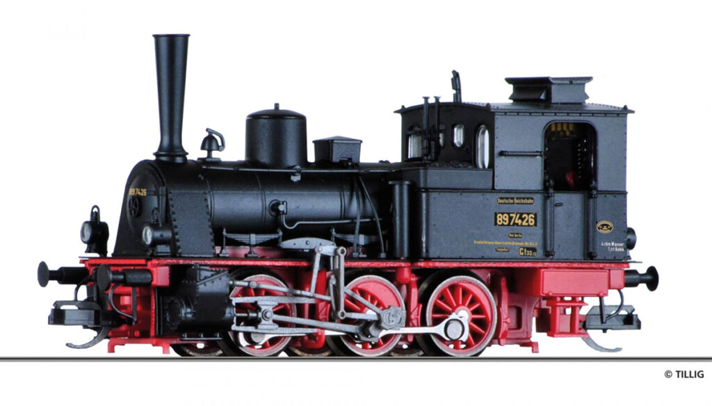 Model parowozu DRG 89 7426
