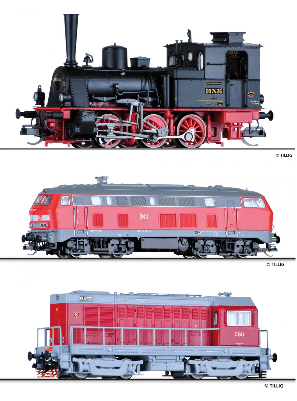 Jesienne nowości Tilliga 2020 – lokomotywy parowe i spalinowe
