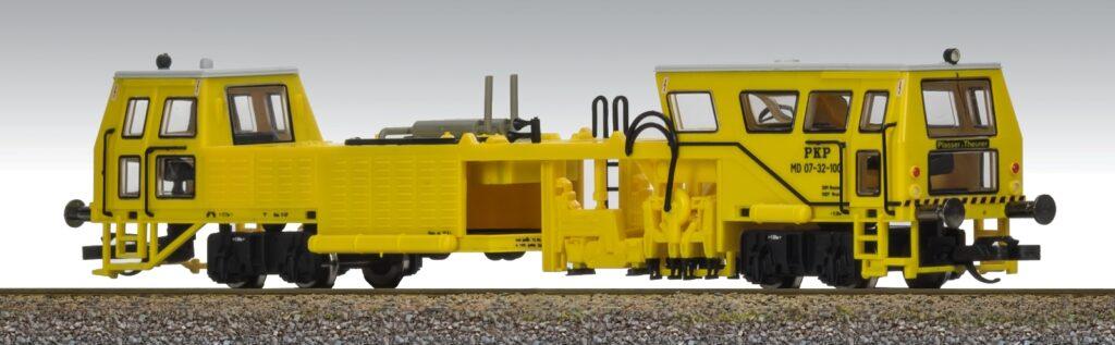Model podbijarki MD 07-32 z oznaczeniami PKP (IV epoka), Fischer-Modell nr. kat 26013112