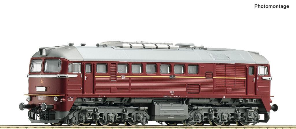 Model lokomotywy spalinowej serii T679.1/T679.5. Epoka IV. Nr katalogowy 36297; z dekoderem i dźwiękiem nr. kat. 36298.