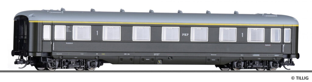 Tillig. Nr.kat.16903. Epoka III. Model wagonu osobowego serii Ahxz,klasy 1; ex AB4ü-38 DRG.