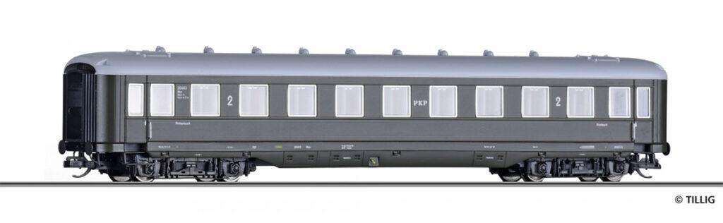 Tillig. Nr.kat.16944. Epoka III. Model wagonu osobowego serii Bhxz,klasy 2; ex C4ü-38 DRG.