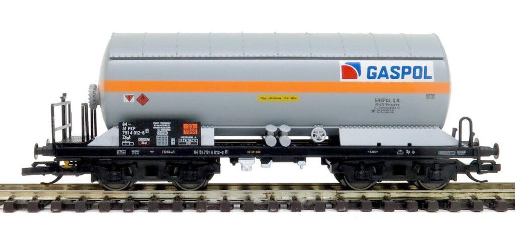 Tillig. Nr.kat.501920. Epoka V. Model wagonu cysterny Zagk GASPOL/PKP